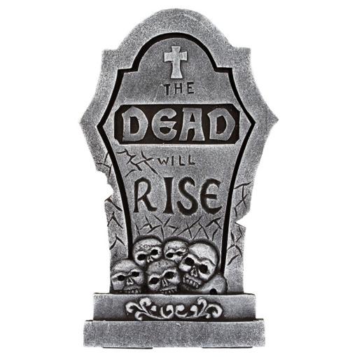 Obrázok z Halloweenská dekorace Náhrobek - The Dead will rise 56 cm